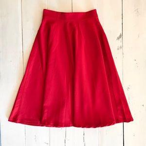 Modcloth Bugle Joy Midi Skirt XS
